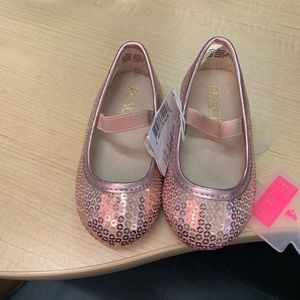 Pink girl dress up shoes